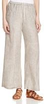 Nic+Zoe Drifty Wide Leg Linen Ankle Pants