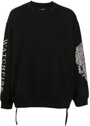 SONGZIO Watchfire crew neck sweatshirt