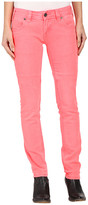 Rock and Roll Cowgirl Low Rise Skinny in Hot Pink W0S6446