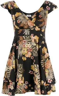 Liu Jo Floral-Print Mini Dress