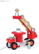 Janod Toddler Diy Fire Truck