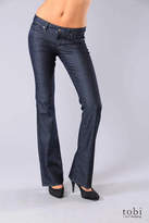 Paige Premium Denim Hollywood Hills Classic Rise Bootcut Jeans in Black Pearl