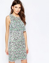 French Connection Boccara Lace Pencil Dress