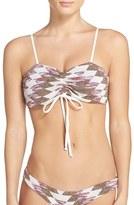 Lovers + Friends Women's 'Rae' Knit Bikini Top