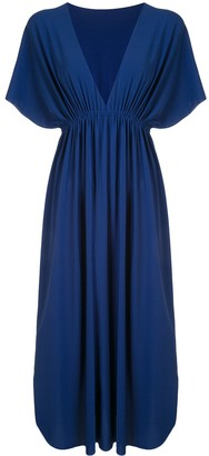 Eres V-neck maxi dress