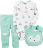 Carter's Little Baby Basics Girl Knee Art Set