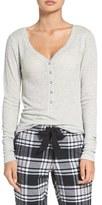 Make + Model Women's Thermal Henley Top