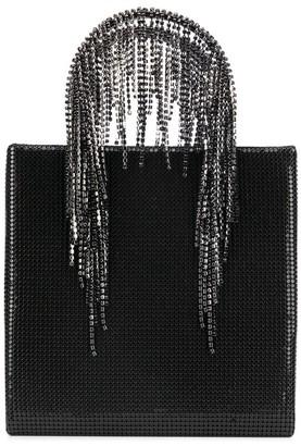 Kara Disc Embellished Tote Bag