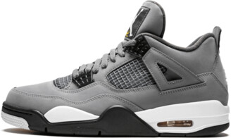 Jordan Air 4 Retro 'Cool Grey' Shoes - Size 5