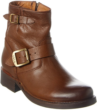 Frye Vicky Leather Bootie
