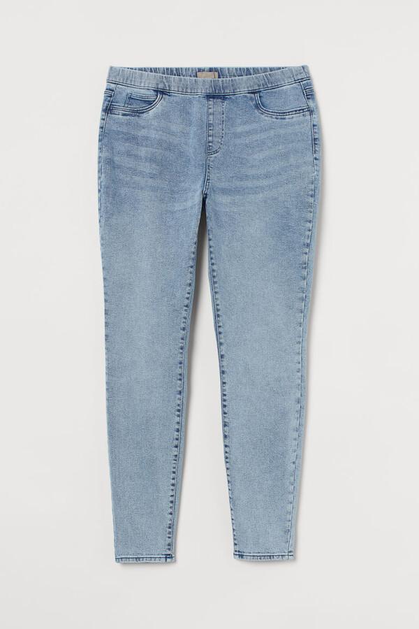 H&M H&M+ Skinny Regular Jeggings - Blue