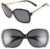 Kate Spade 'darilynn' 58mm Polarized Sunglasses