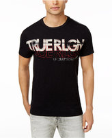 True Religion Men's Retro Logo Cotton T-Shirt