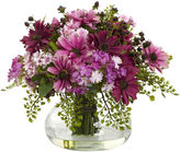 Asstd National Brand Nearly Natural Large Mixed Daisy Floral Arrangement