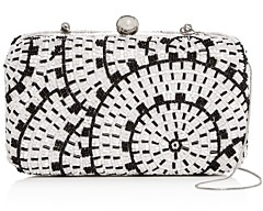 From St Xavier Alice Beaded Box Clutch