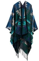 Yxjdress Fashion Vintage Pashmina Wrap Shawl Poncho Cape Cardigans(Multi)
