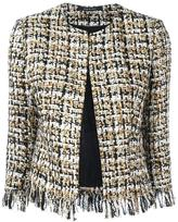 Tagliatore buttoned tweed jacket - women - Acrylic/Polyamide/Polyester/Wool - 44