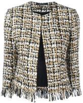 Tagliatore buttoned tweed jacket - women - Cupro/Acrylic/Polyamide/Wool - 44