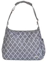 JJ Cole Linden Diaper Bag in Stone Arbor