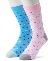 Men's Funky Socks 2-pack The Winner Derby Socks
