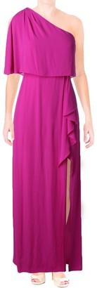 BCBGMAXAZRIA Azria Women's Secha Long One Shoulder Evening Dress