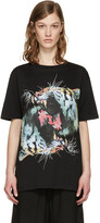 Marcelo Burlon County of Milan Black Sabina T-shirt