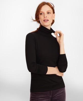Brooks Brothers Merino Wool Turtleneck Sweater