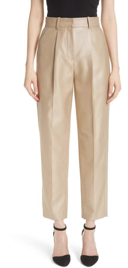 Emporio Armani Metallic Crop Pants