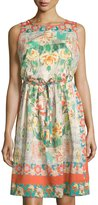Johnny Was Ruru Printed Sleeveless Dress, Multi