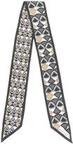 Bulgari geometric pattern scarf