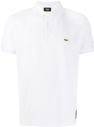 Fendi Embroidered Logo Polo Shirt