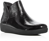 FitFlop Supermod Patent Ankle Booties
