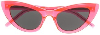 Saint Laurent Eyewear SL 213 Lily cat-eye sunglasses