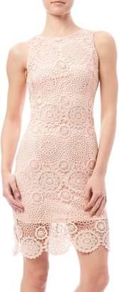 Fashion On Earth Crochet Overlay Dress