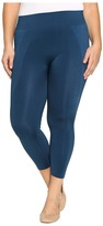 Hue Plus Size Seamless Shaping Capris
