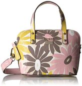 GUESS Jordyn Mini Dome Satchel-Floral Multi