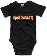 FDGRST Iron Maiden Band Bruce Dickinson Cute Baby Onesies Newborn Clothes