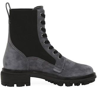 Rag & Bone Shiloh Suede Combat Boots