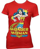 DC Comics Women's Comic Style Wonder Woman T-Shirt: X Large