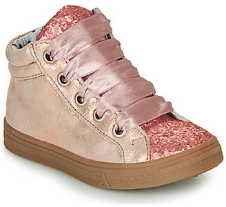 Catimini CALENDULE girls's Shoes (High-top Trainers) in Pink