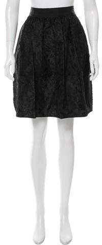 Dolce & Gabbana Lace Knee-Length Skirt w/ Tags