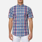 Tommy Hilfiger Men's Lester Check Short Sleeve Shirt
