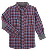 Andy & Evan Little Boy's Checkered Cotton Top