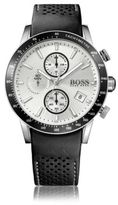 Hugo Boss 1513403 Chronograph Tachymeter Leather Strap Watch One Size Assorted-Pre-Pack