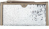Tory Burch Sequin Tassel Wristlet Clutch Bag