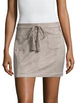Dolce Vita Madden Fringe Trimmed Mini Skirt