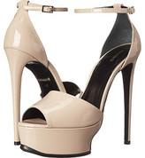 Roberto Cavalli Geisha Patent Sandal