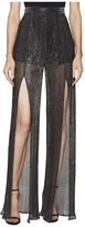 Just Cavalli Sheer Slit Pants Women's Casual Pants