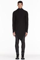Gareth Pugh Black layered angular cardigan
