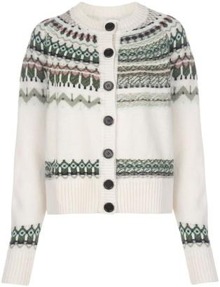 M Missoni Instarsia Knitted Cardigan
